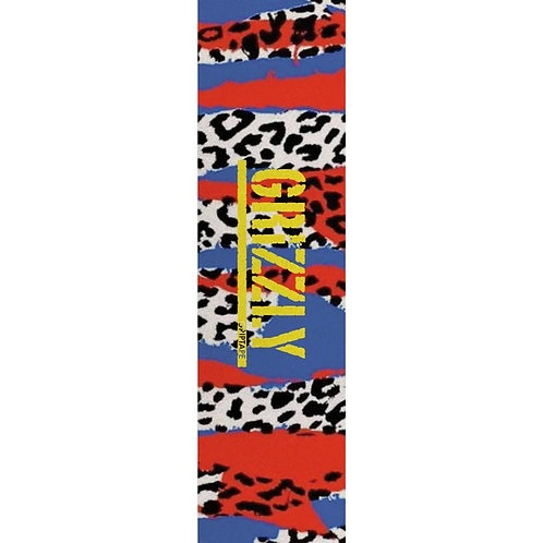 GRIZZLY ANIMAL PANEL  STAMP GRIPTAPE