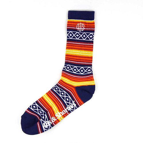 40s&Shorties SUNSET Socks