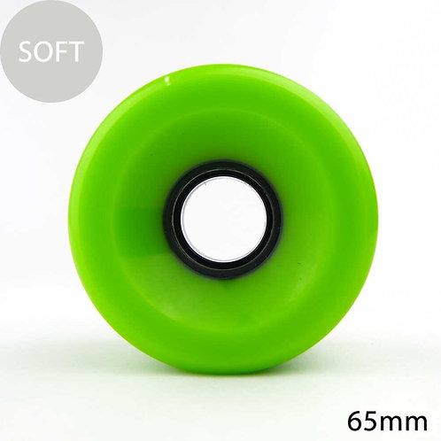 GRAVITY ORIGINAL SOFT WHEEL 65mm 80A GREEN