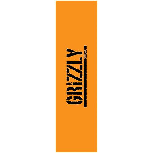 GRIZZLY STAMP NECESSITIES GRIPTAPE ORANGE