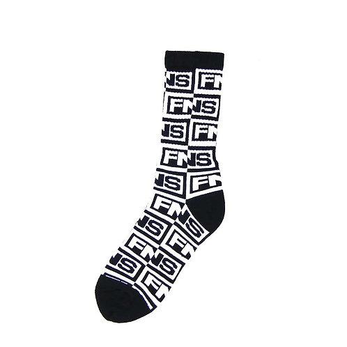 40s&Shorties QR LOGO Socks