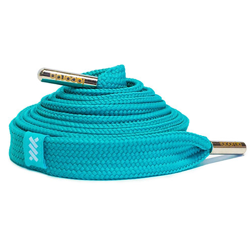 LACORDA SHOELACE BELT TEAL