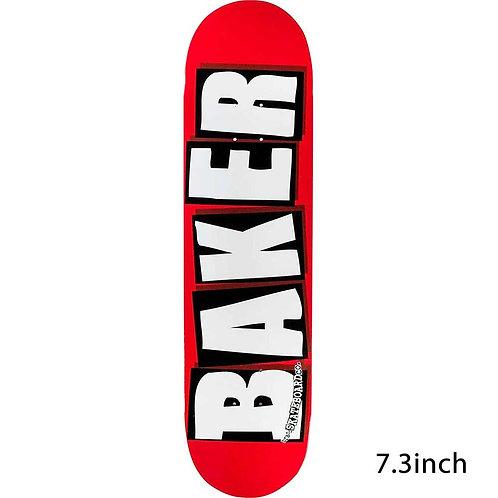 Baker Brand Logo White mini 7.3