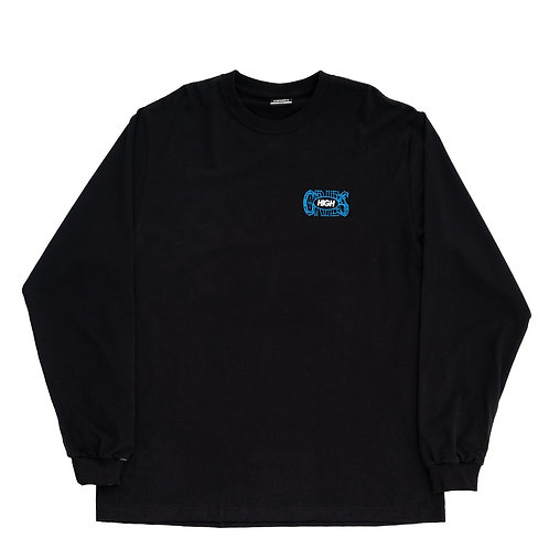 HIGH COMPANY LONGSLEEVE CRIBS BLACK