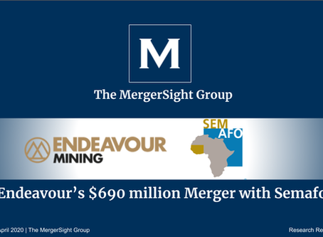 Endeavour's $690 million Merger with Semafo