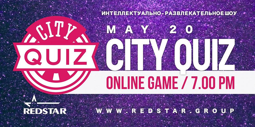 City Quiz Online. Пятая игра. MAY 20