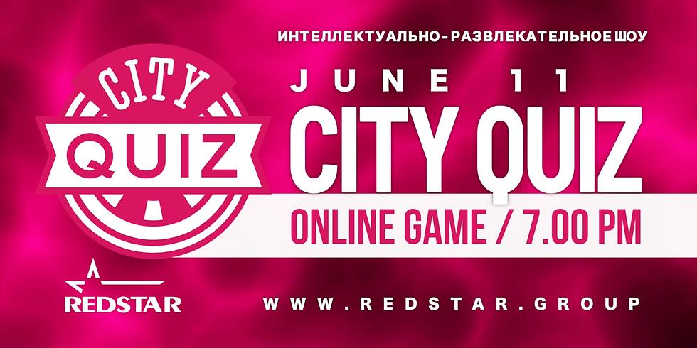 City Quiz Online. Шестая игра. June 11