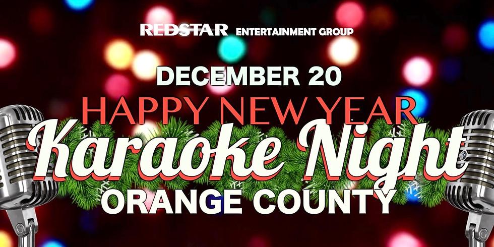 New Year Karaoke Night. Orange County