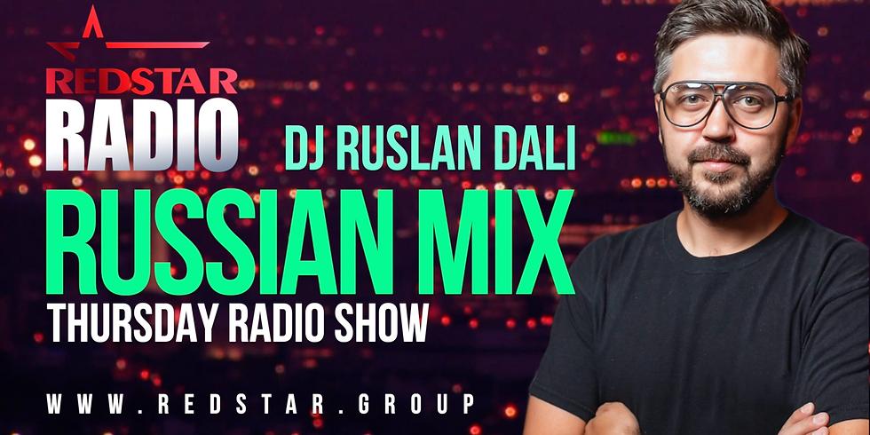 Russian Mix Show. RedStar Radio. DJ DALI