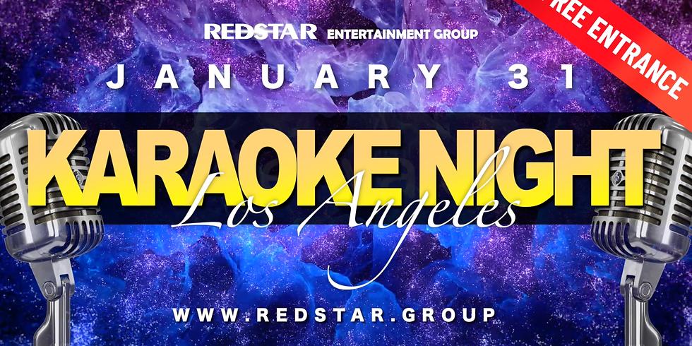 Karaoke Night LOS ANGELES. JAN 31