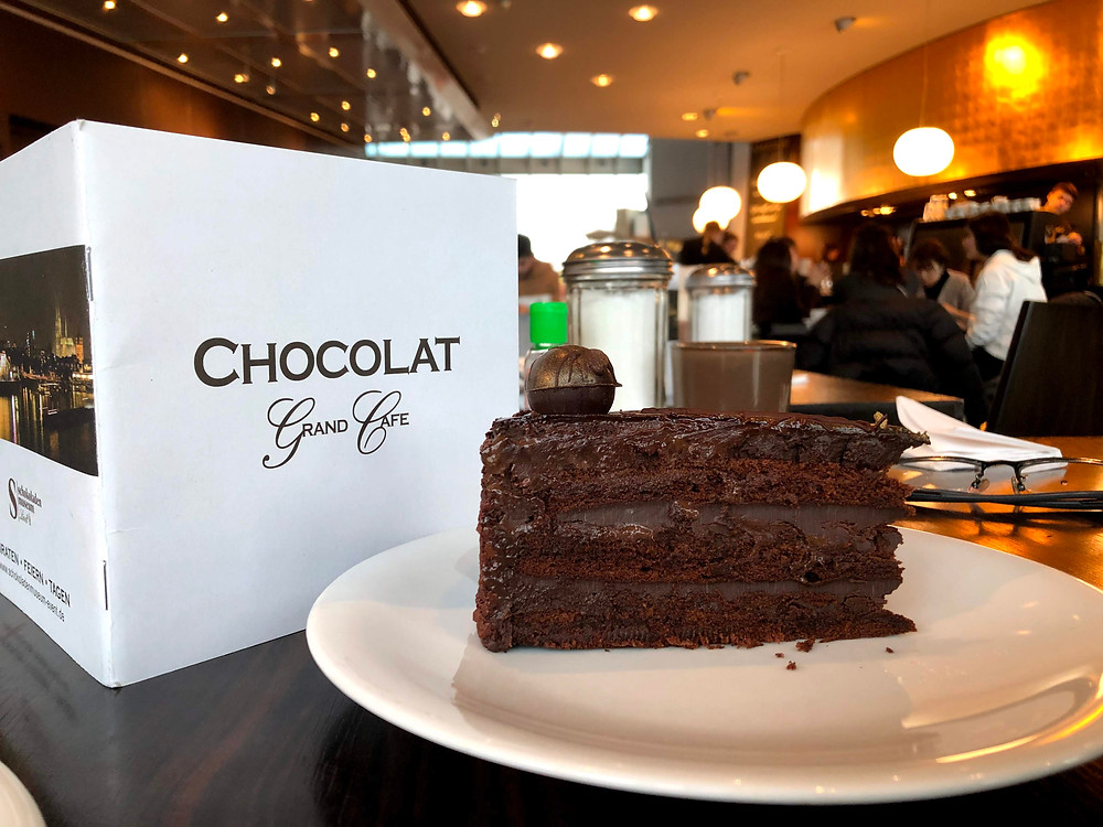 Yummy, delicious and chocolatey pastries await you at the Chocolate Museum in Cologne!