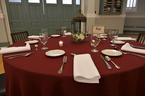 St. Paul's Place Table Setting