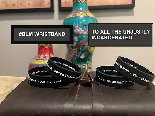 #BLM Wristband