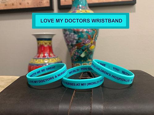 WRISTBAND - LOVE MY DOCTORS
