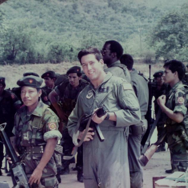 Pecoraro during his El Salvador Mission