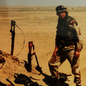 Bob Pecoraro in Operation Desert Storm