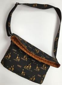 Mrs H - Slouchey Sling Bag Safari Life 2