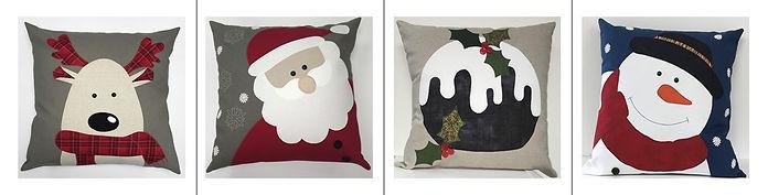 Christmas Cushions.JPG