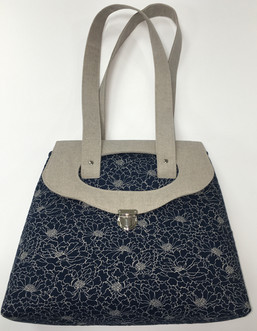 Mrs H The Holey Mayole Bag Makower Linen