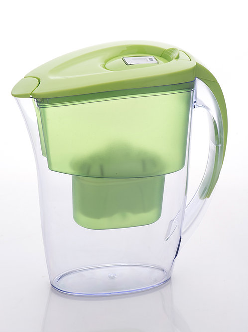 Jasmine type water filter pitcher