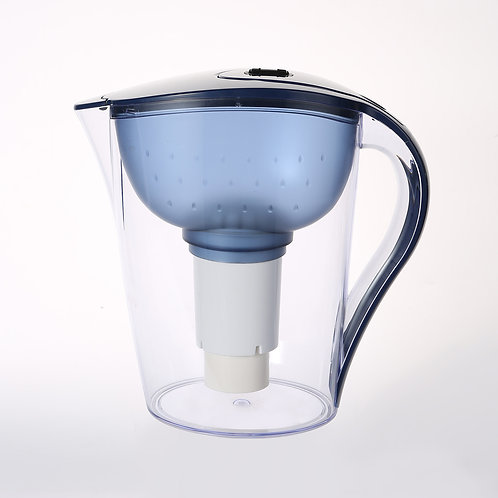 Orchid type water filter pitcher