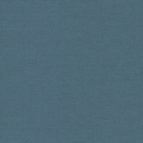 M592 Linen Cotton Solid Dye - Mid Blue