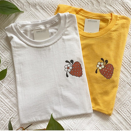 Strawberry T-Shirt - Yellow