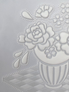 Floral Pattern - detail
