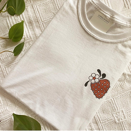Strawberry T-Shirt - White