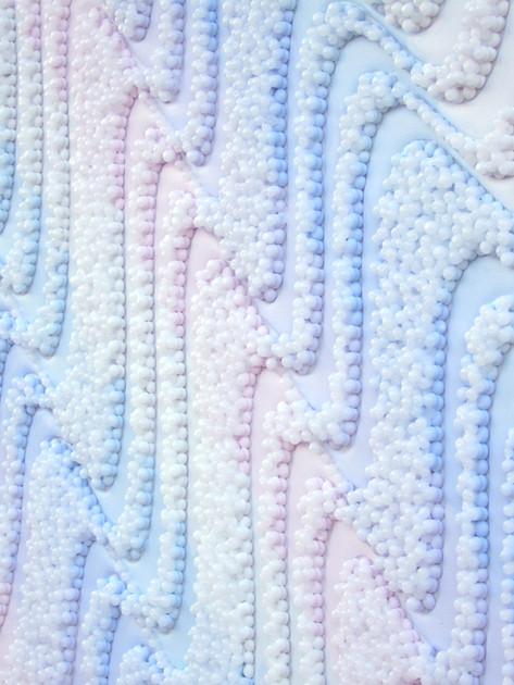 Iridescent Waves II - detail