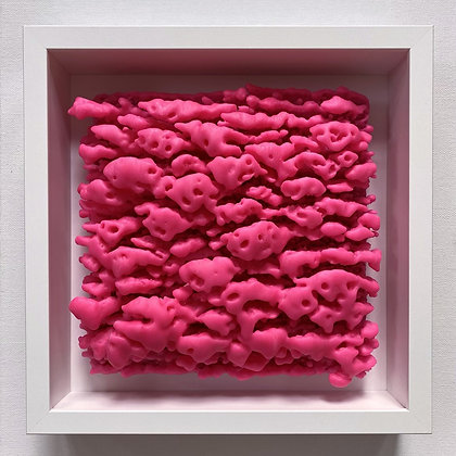 Puff Series - Hot Pink