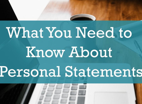 College Apps: What You Need to Know About Personal Statements