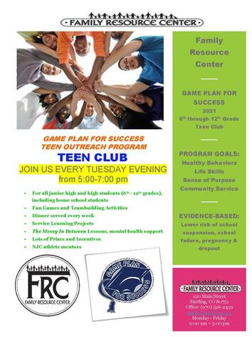 FRC Teen Club