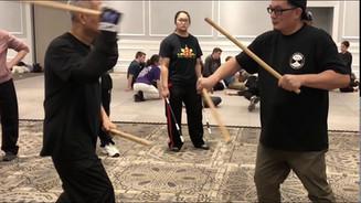 Sinawailli patter - Double sticks