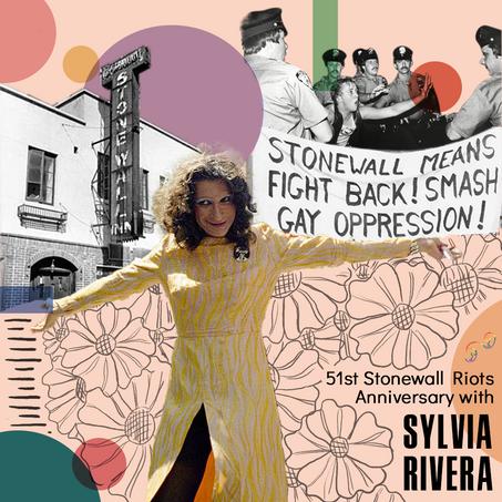 Honoring Latinx LGBTQ+ Activists: Sylvia Rivera