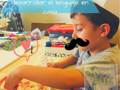 5 actividades para desarrollar el lenguaje en casa