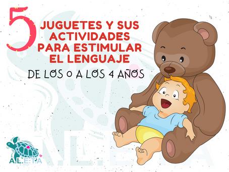 5 JUGUETES Y SUS ACTIVIDADES PARA ESTIMULAR EL LENGUAJE