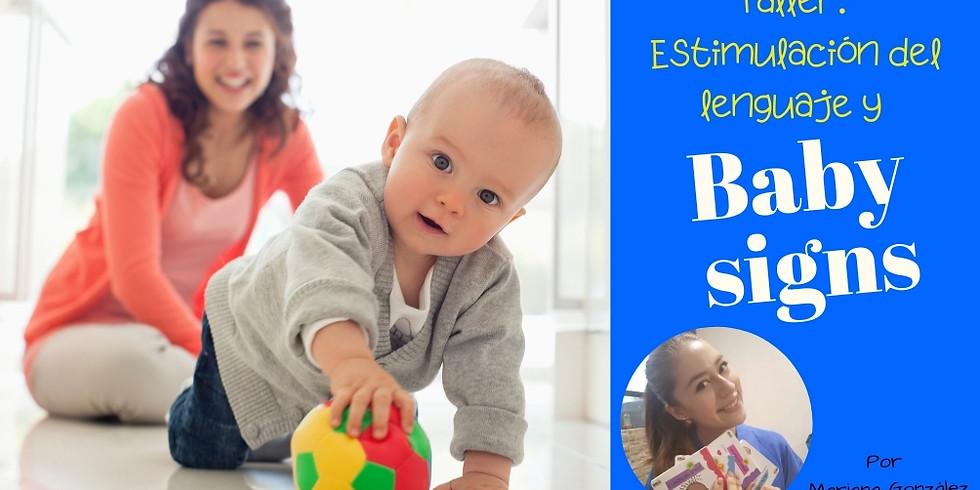 Taller: Estimulación del lenguaje y Baby signs