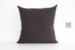 """Dark Brown Dotted Pattern Pillow Cover 18"""" x 18"""""""