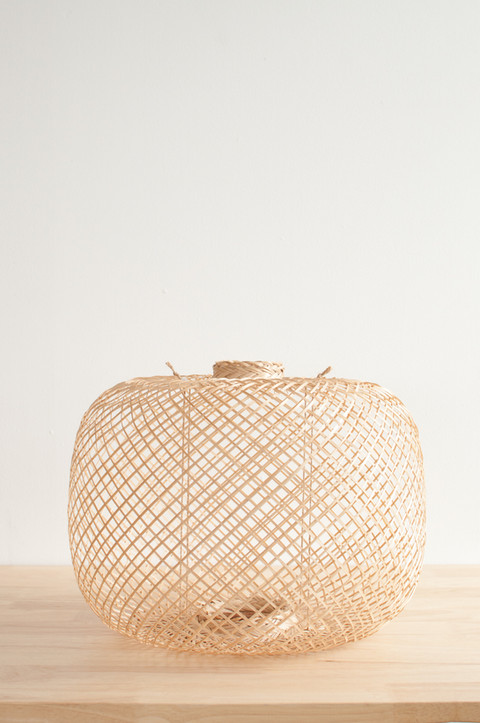 Spherical Bamboo Lantern