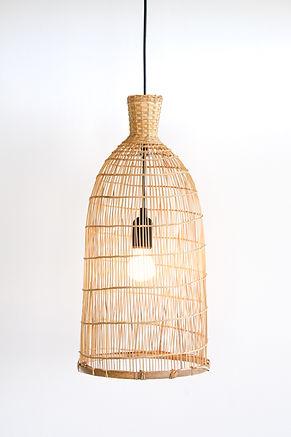 PL08 - Repurposed Fish Trap Lamp