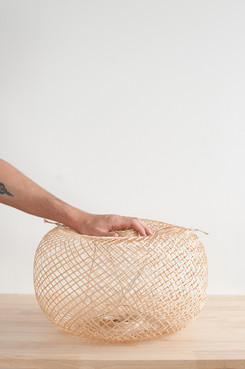 Flexible Bamboo Basket