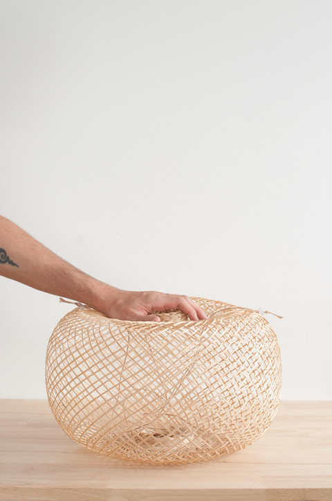 Flexible Bamboo Basket