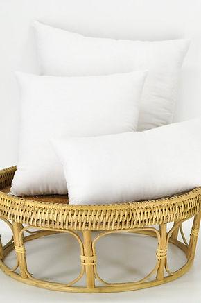 "Natural Pillow Insert filled with 100% Organic Kapok 16"", 18"", 20"", 22"""