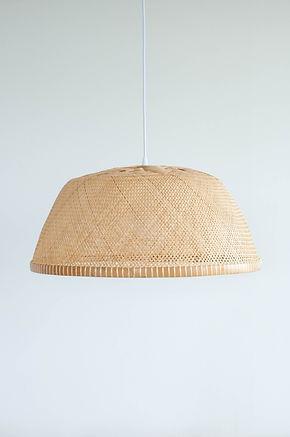 PL11 - Large Bamboo Bowl Pendant Light