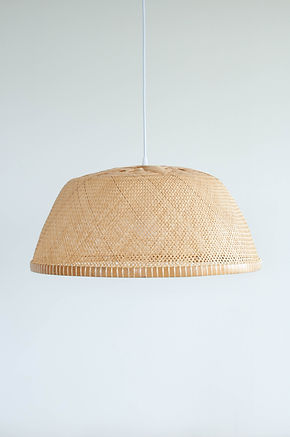 PL11 - Large Bamboo Bowl Pendant Light