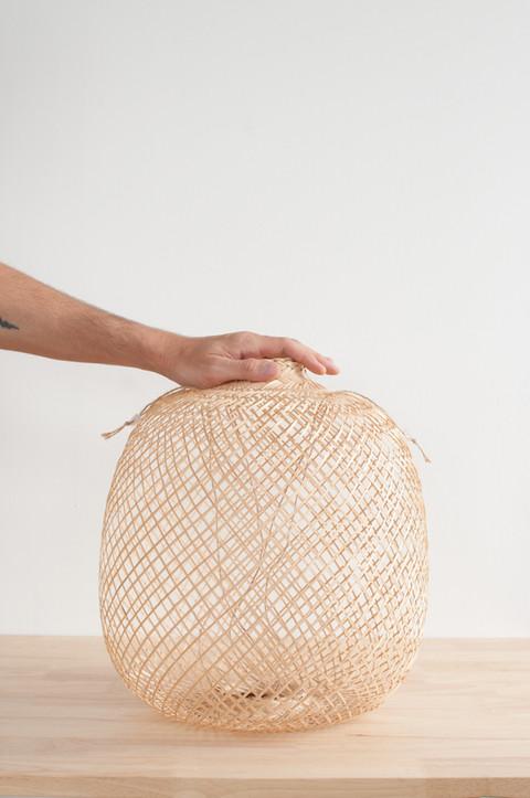 Woven Bamboo Basket