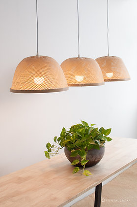 PL10 - Bamboo Bowl Pendant Light