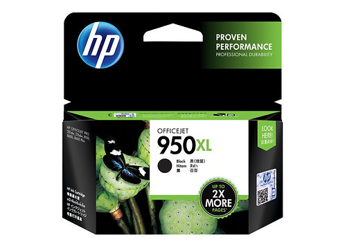 HP 950XL Black High Yield Ink Cartridge