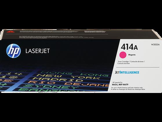 HP 414A Magenta Original LaserJet Toner Cartridge (W2023A)